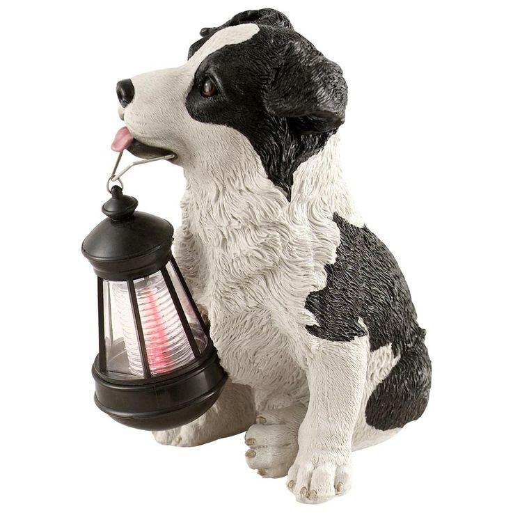 Solar LED Garten Aussenleuchte Hund Gartenlampe Hundelampe Leuchte Globo 33370 – Bild 1