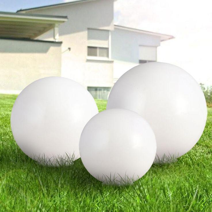 Lampe solaire à LED prise extérieure lampe terre cracher jardin stand boule projecteur blanc  Globo 3378 – Bild 3