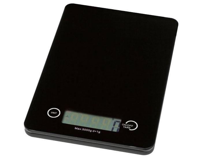 Balance digitale cuisine verre instrument de mesure noir Clatronic KW 3366
