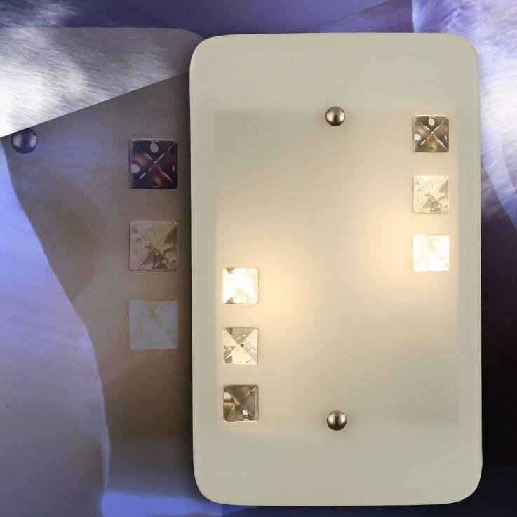 Wandleuchte aus Metall und Glas mit schlichtem Design ORBIT – Bild 5