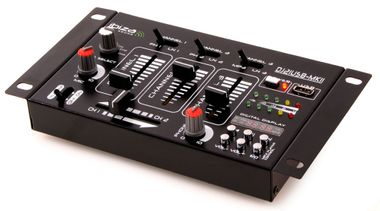 DJ PA Stereo Mischpult USB MP3 Party Kompakt MX36-D