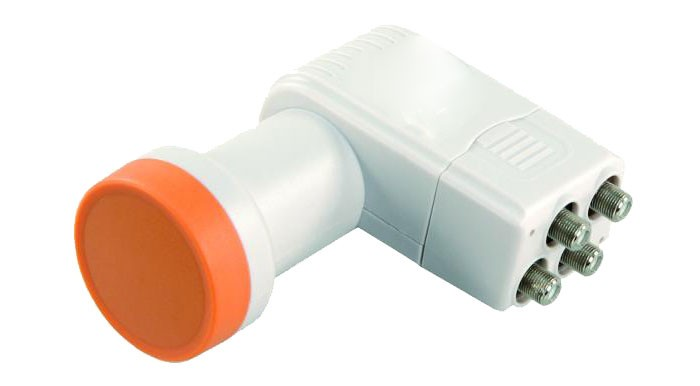 Digital Quattro-LNB Multiswitch HDTV rauscharmer – Bild 2