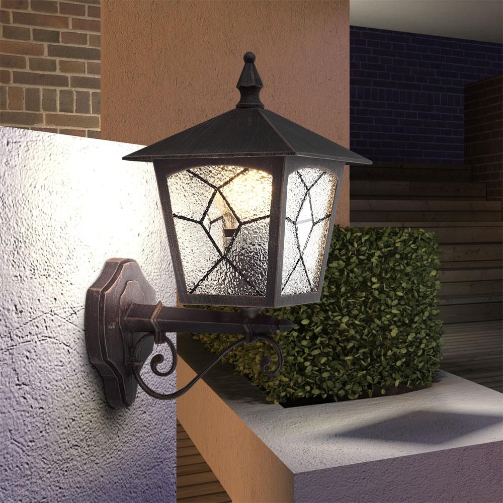 klassische wandleuchte f r den au enbereich atlanta lampen m bel au enleuchten wandbeleuchtung. Black Bedroom Furniture Sets. Home Design Ideas