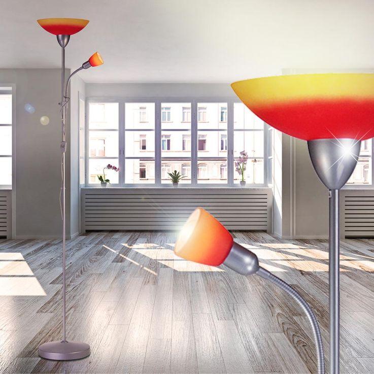 Get ceiling floodlights stand lamp flexible arm reading light Globo 58466 – Bild 7