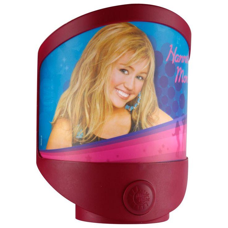LED Steh-/Wandleuchte für Kinder, pink Hannah Montana – Bild 1