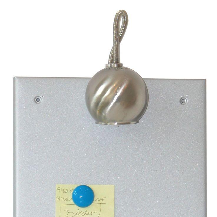 Wandleuchte mit magnetischer Pinnwand und Notizwand – Bild 3