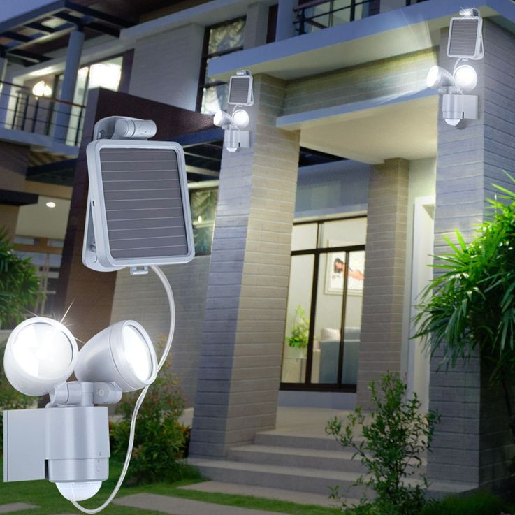 LED solar garden light outdoor motion detector light outdoorlamp gardenlamp Globo 3715S – Bild 2