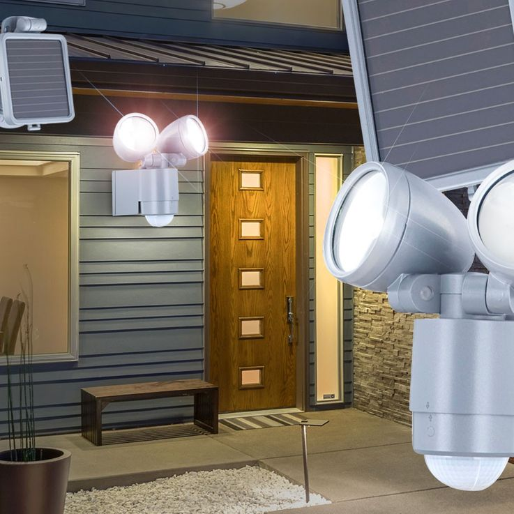 LED solar garden light outdoor motion detector light outdoorlamp gardenlamp Globo 3715S – Bild 3
