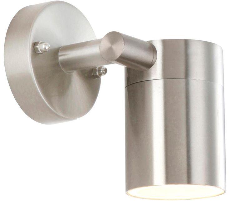 Wandleuchte Wandlampe Zimmerlampe Leuchte Lampe Licht Edelstahl Globo 3207 – Bild 1