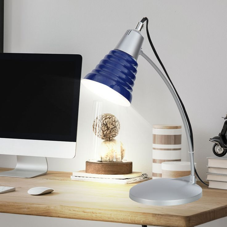 Table lamp table lamp desk lamp lighting blue  Esto Giga 992247 – Bild 3