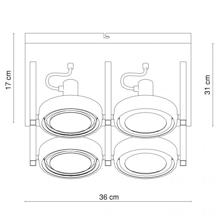 Couverture de lampe projecteurs mobiles spots miroir lampe projecteurs chromé IP20 5645-4 – Bild 8