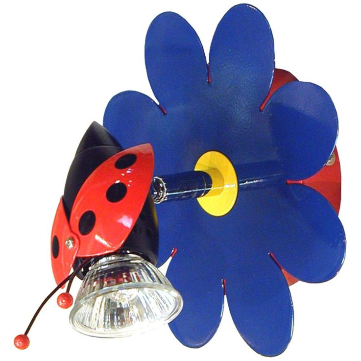 Kids Wall Spot Halogen Wall Lamp Reading Lamp Wall Light FUNNY FRIENDS Spot – Bild 1