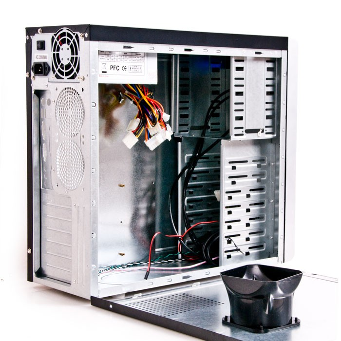 Gaming Computergehäuse Tower 400 Watt Computer  – Bild 2