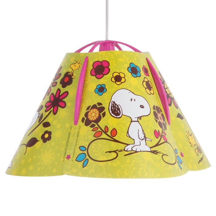 bunte h ngeleuchte f r kinder mit snoopy motiv lampen m bel innenleuchten kinderleuchten. Black Bedroom Furniture Sets. Home Design Ideas
