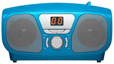 CD Radio Stereo system including Sticker Toploader BigBen Kids blue cd46b_stckr – Bild 4