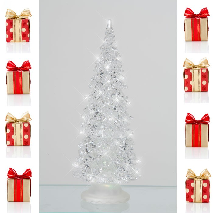 Illuminated Christmas tree color changing RGB LED Satin X-Tree Esto 900406 – Bild 3