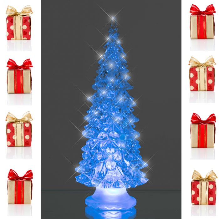 Illuminated Christmas tree color changing RGB LED Satin X-Tree Esto 900406 – Bild 5