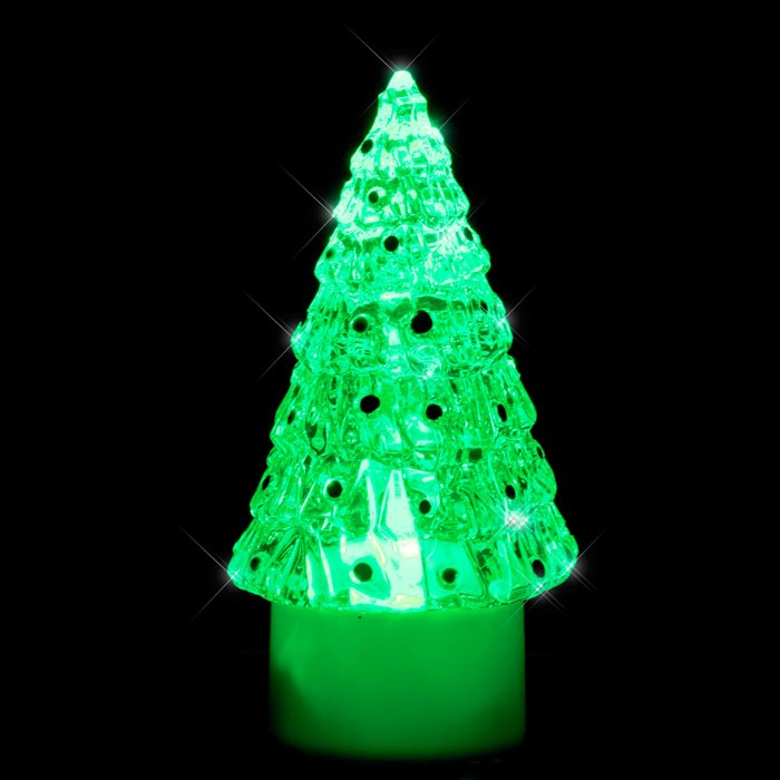 Christmas tree decoration LED effect light RGB LED X-Tree ESTO 900405 – Bild 2