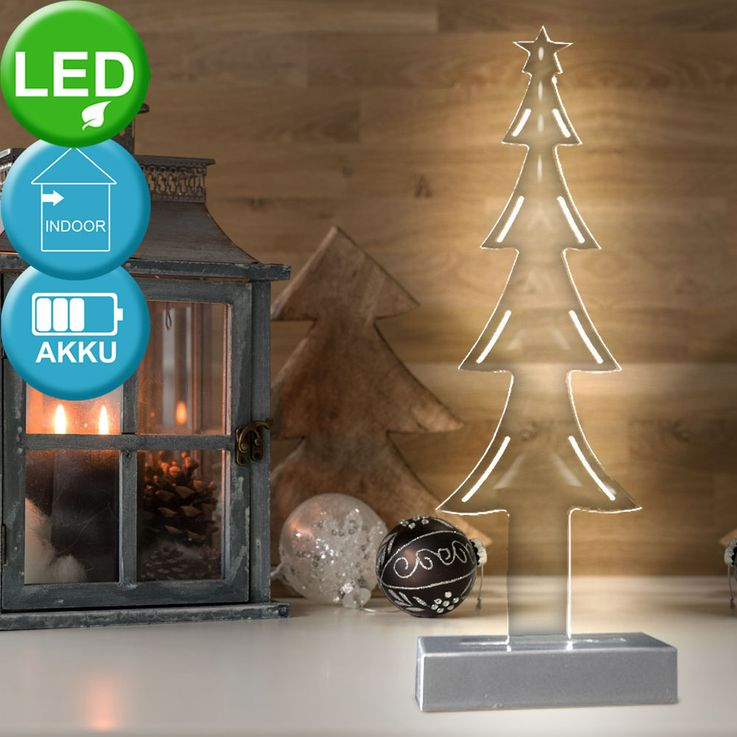 XMAS effect lightning Christmas tree winter time Acrylo Tree LED blue Esto990456 – Bild 2