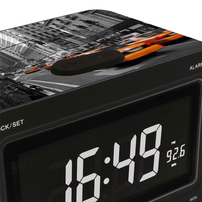 Réveil radio écran LCD dimmable horloge musique BigBen RR30 - New York Taxi – Bild 2