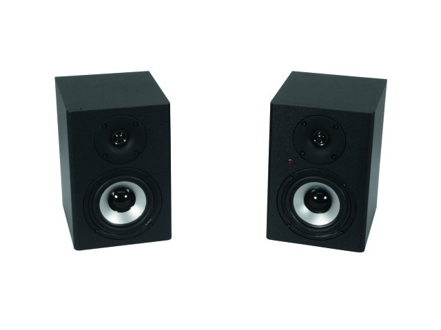 Studio-Monitor/Pair speaker boxes set OMNITRONIC PME-4 11036452 – Bild 1