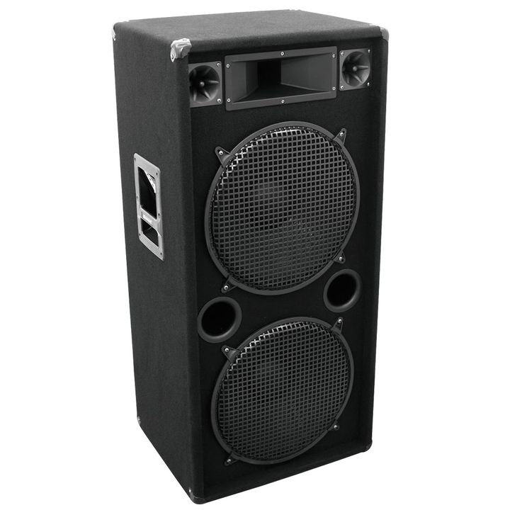 1200W 3-way speaker DJ PA Speakers Omnitronic DX-2522 11037091 – Bild 1