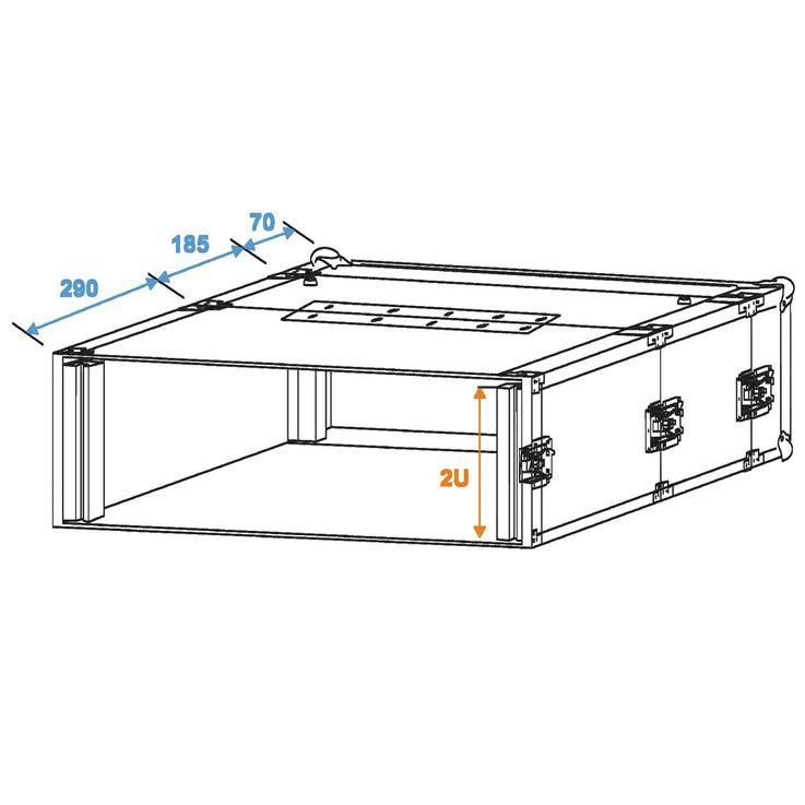 Gerätekoffer Case mit Doppel-CD-Player-Case – Bild 3