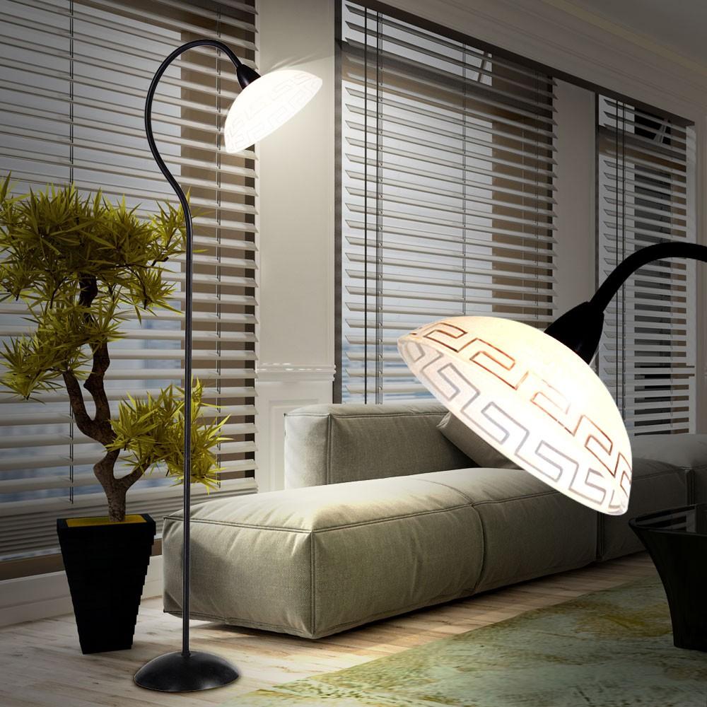 Vintage steh lampe esszimmer stand leuchte rustikal for Leuchte esszimmer
