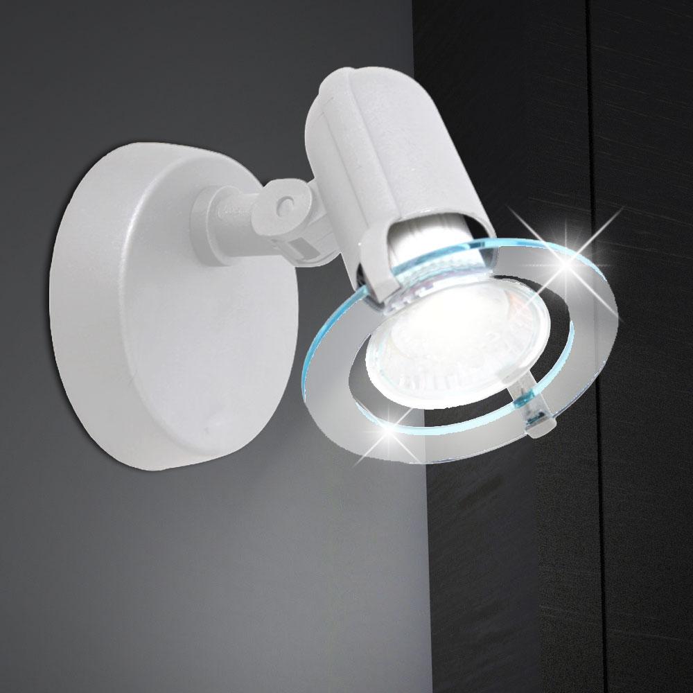 wand strahler k chen spot flur b ro lampe flur leuchte. Black Bedroom Furniture Sets. Home Design Ideas