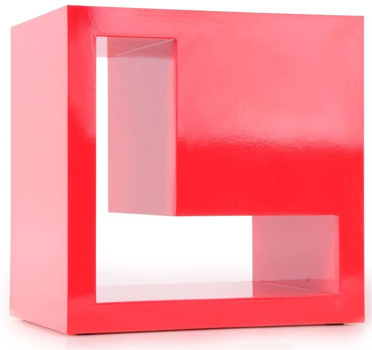 Wall storage shelves designer wooden-shelf universal-shelf BHP Love B421014-5 – Bild 1
