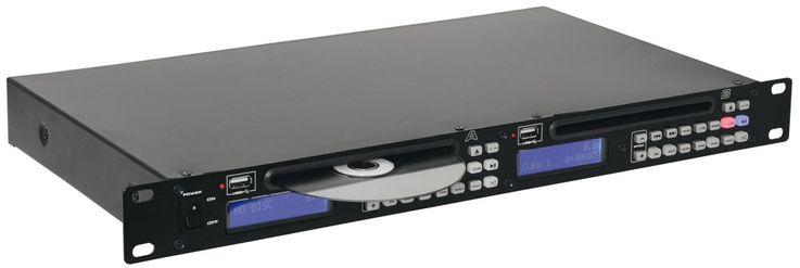 DJ PA Dual-USB-CD-Player mit Pitchregelung – Bild 1