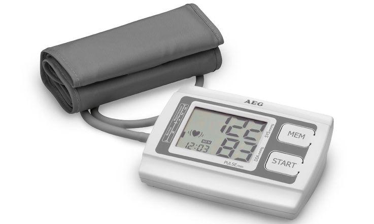 Tensiomètre automatique pulsation tension artérielle compteur fréquence cardiaque moniteur bras – Bild 1