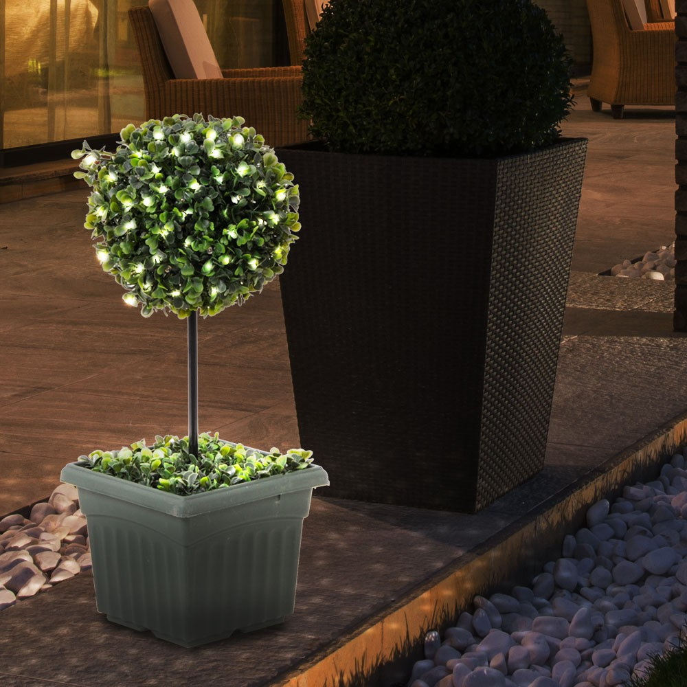 Led d coration clairage pour ext rieur arbuste lampe pour for Arbuste plastique