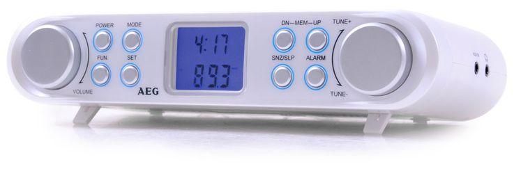 Undercounter kitchen radio alarm function calendar display timer AEG KRC 4344 – Bild 2