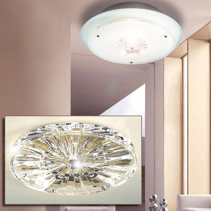 Design Deckenleuchte aus Kristallglas in runder Form CHRIS – Bild 3