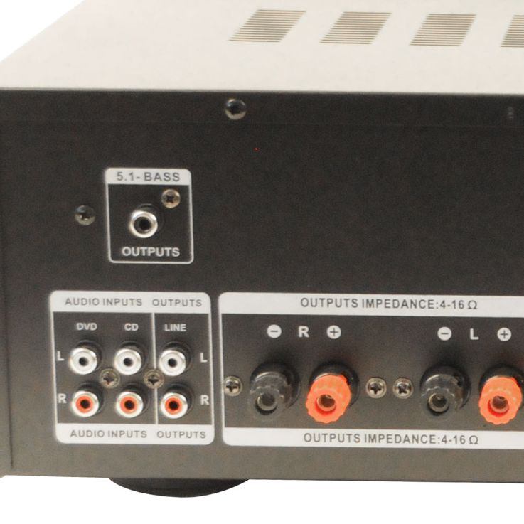 3000W PA Party Musikanlage Boxen USB SD MP3 Bluetooth Verstärker Mixer Funkmikrofon DJ-Tornado – Bild 7