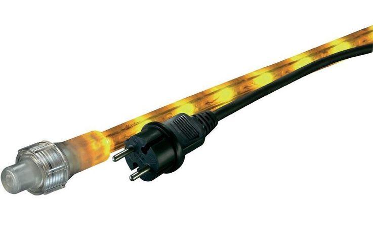 LED Lichtschlauch mit 36 LEDs und brilliante Farben in gelb-orange – Bild 3