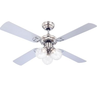 Ceiling fan with light and pull switch lamp ceiling lighting Globo Enigma 0329 – Bild 6