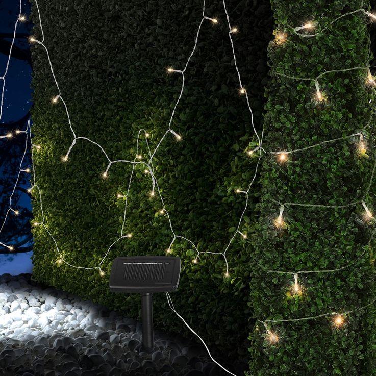Praktische Solar Lichterkette mit 50 LED für den Garten – Bild 5