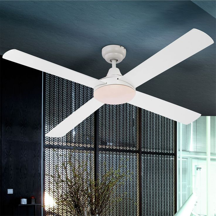 Ceiling ventilator with wall switch cooling fan wind machine fan Globo DARIA 0338 – Bild 5