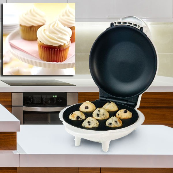 Cup cake maker muffinmaker cupcakemaker plate for seven cupcakes CCM-104451 – Bild 6