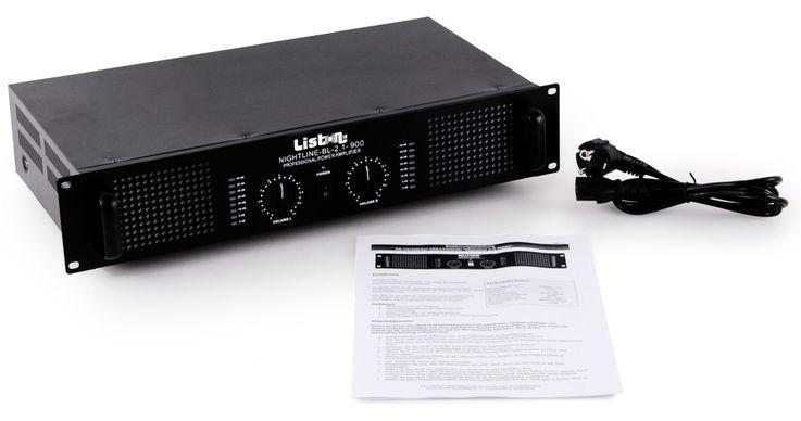 PA system gastronomy restaurant bar music system 4 x speakers + amplifier Gastro-38 – Bild 5