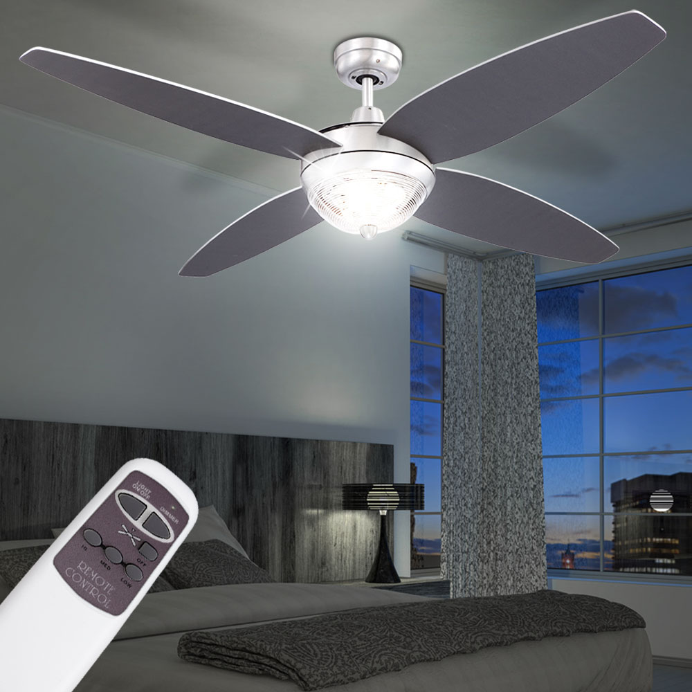 deckenventilator mit beleuchtung ventilator lampe leuchte. Black Bedroom Furniture Sets. Home Design Ideas