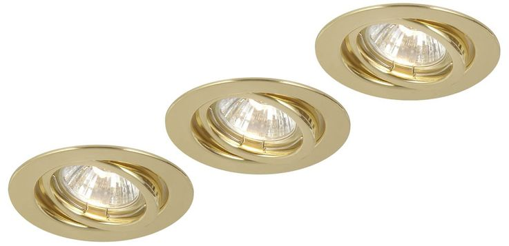 Recessed light Recessed Spot Set of 3 50 Watt Spot Light Bulb Lamp Globo 12114-3 – Bild 1
