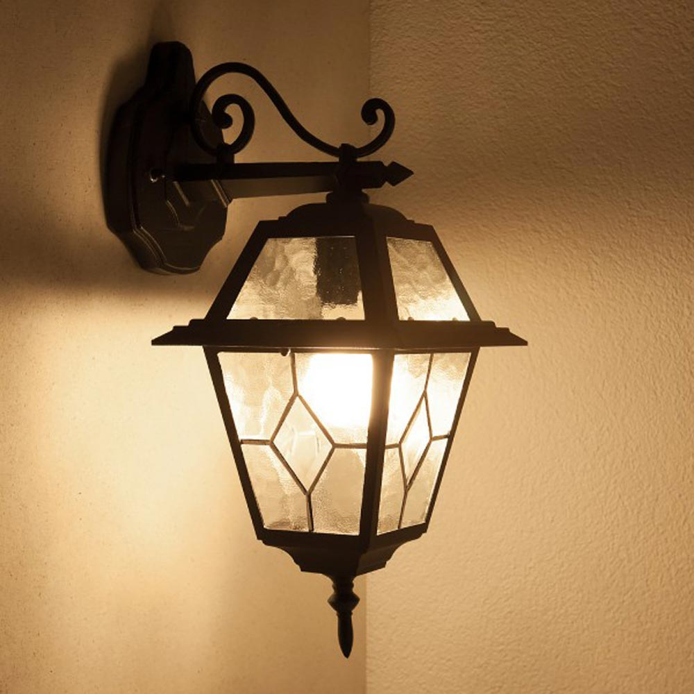 applique murale lampe ip44 luminaires de jardin d 39 ext rieur ebay. Black Bedroom Furniture Sets. Home Design Ideas
