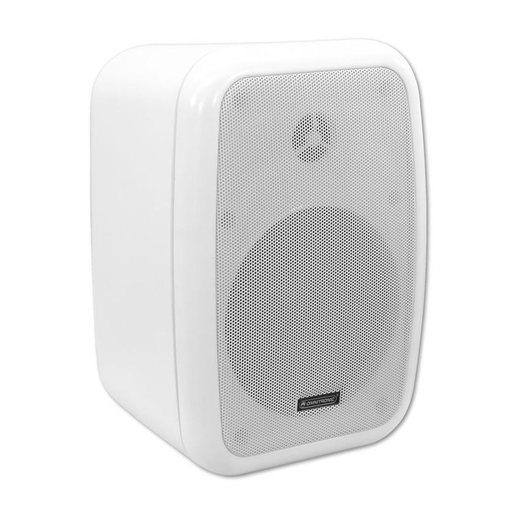 PA wall speaker pair with wall kit Omnitronic WA-5W – Bild 2