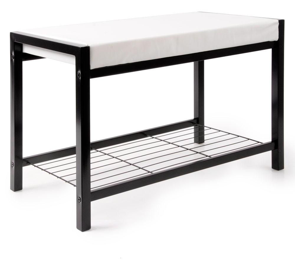 schuhregal sitzbank schuhschrank regal bank 68 x 45 x 35 cm schuhbank ablage ebay. Black Bedroom Furniture Sets. Home Design Ideas