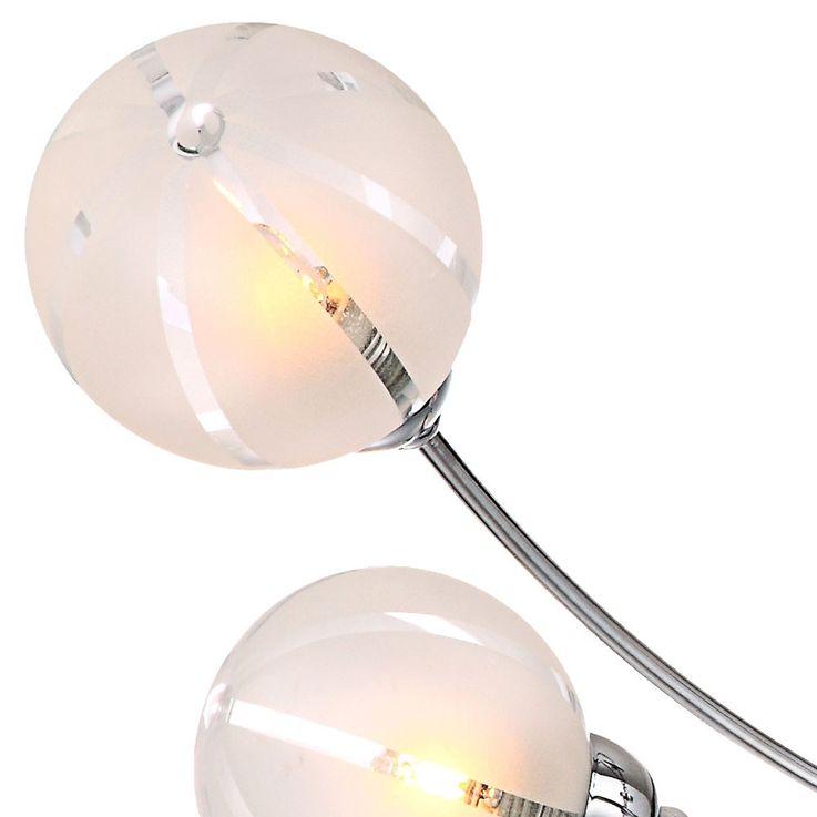 Ceiling lighting ceiling lamp lighting chrome glass lamp light Globo 56397-5 – Bild 12