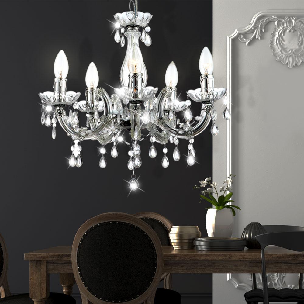 kronleuchter wohnzimmer h nge decken pendel leuchten lampen verschiedene farben ebay. Black Bedroom Furniture Sets. Home Design Ideas