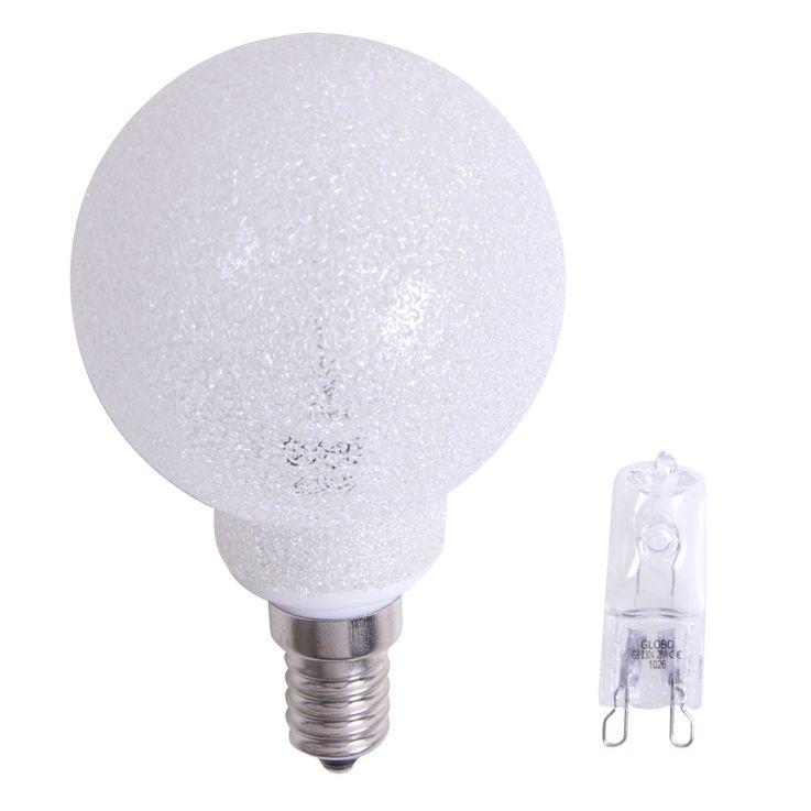 Leuchtmitteladapter G9 auf E14 inkl. Halogen-Leuchtmittel – Bild 1